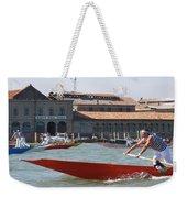 Venetian Rowing Racers Weekender Tote Bag