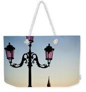 Venetian Sunset Weekender Tote Bag by Dave Bowman