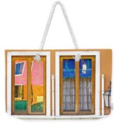 Venetian Window Reflections Weekender Tote Bag