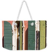 Venetian Windows Weekender Tote Bag