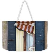 Venetian Windows Shutter Weekender Tote Bag