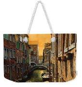 Venezia Al Tramonto Weekender Tote Bag
