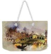 Venezia, Canal Grande Weekender Tote Bag