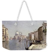 Venice - View Of Campo Della Carita Looking Towards The Dome Of The Salute Weekender Tote Bag