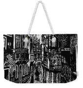 Venice At Night Weekender Tote Bag