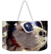 Venice Beach Dog Weekender Tote Bag