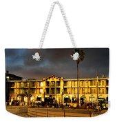 Venice Beach. Golden Sunset Weekender Tote Bag