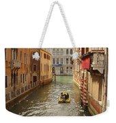Venice Canal 2 Weekender Tote Bag