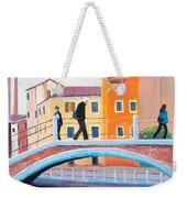 Venice Canal Painting Weekender Tote Bag