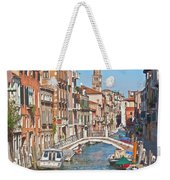 Venice Canaletto Bridging Weekender Tote Bag