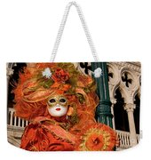 Venice Carnival Mask Italy Weekender Tote Bag