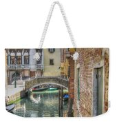 Venice Channels1  Weekender Tote Bag