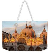 Venice Church Of St. Marks At Sunset Weekender Tote Bag