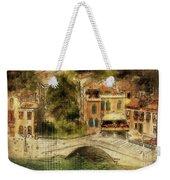 Venice City Of Bridges Weekender Tote Bag