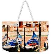 Venice, City Of Romance, Italy, Gondolas Weekender Tote Bag