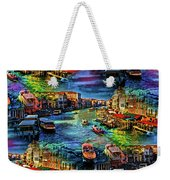 Venice Coming And Going Weekender Tote Bag