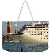 Venice Cruise Ship 2 Weekender Tote Bag