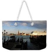 Venice Cruise Ship Weekender Tote Bag
