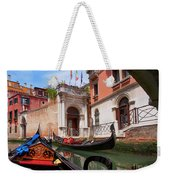 Venice From A Gondola Weekender Tote Bag