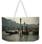 Venice Gondola Weekender Tote Bag