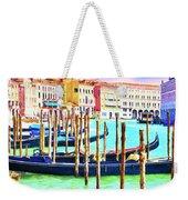 Venice Gondolas Weekender Tote Bag