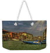 Venice Grand Canal God Sun Rays Weekender Tote Bag
