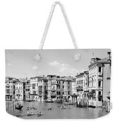 Venice In Black And White Weekender Tote Bag