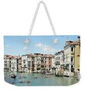 Venice In Colors Weekender Tote Bag