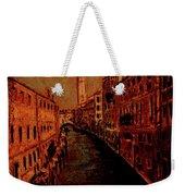 Venice In Golden Sunlight Weekender Tote Bag