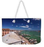 Venice Lagoon Panorama - Bird View Weekender Tote Bag