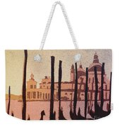Venice Morning Weekender Tote Bag
