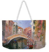 Venice Ponte Vendrraria Weekender Tote Bag