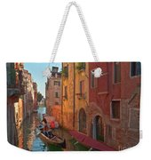 Venice Sentimental Journey Weekender Tote Bag