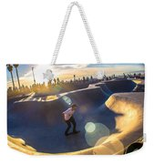 Venice Skate Park Weekender Tote Bag