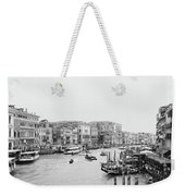 Venice Taxi Ride Weekender Tote Bag