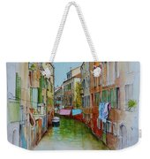 Venice Washing Day Weekender Tote Bag