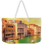 Venice Water Taxis Weekender Tote Bag