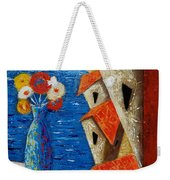 Ventana Al Mar Weekender Tote Bag by Oscar Ortiz