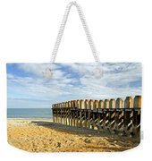 Ventnor Beach Groyne Weekender Tote Bag