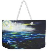 Ventura Seascape At Night Weekender Tote Bag