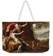 Venus And Adonis With Hounds Weekender Tote Bag