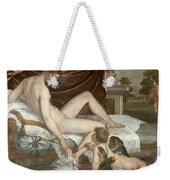 Venus And Cupid Weekender Tote Bag