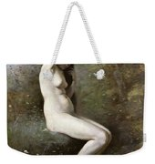 Venus Bathing Weekender Tote Bag