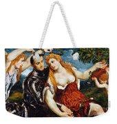 Venus, Mars & Cupid Weekender Tote Bag