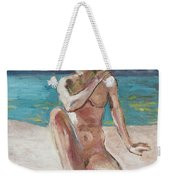 Venus Of The Moon Weekender Tote Bag