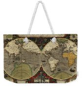 Vera Totius Expeditionis Nauticae Of 1595 Weekender Tote Bag