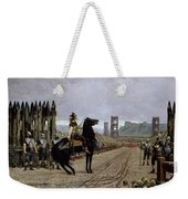 Vercingetorix Before Caesar Weekender Tote Bag