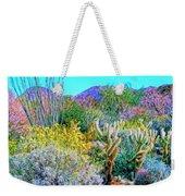 Verdant Spring Mohave Desert Weekender Tote Bag