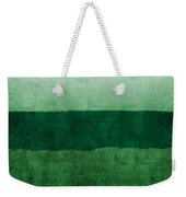 Verde Landscape 1- Art By Linda Woods Weekender Tote Bag