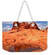 Vermilion Cliffs Reflections Weekender Tote Bag
